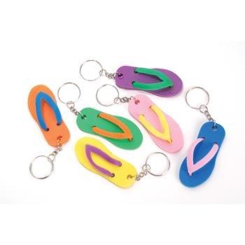 Favor Flip Flop Keychains