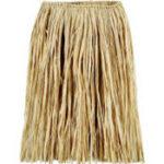 Hula Skirt Raffia Natural Adult