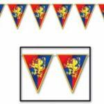 12 Ft Medieval Pennant Banner
