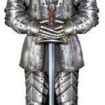 A Cutout Suit Of Armor 6ft