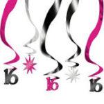 16 Swirls Decor 5ct