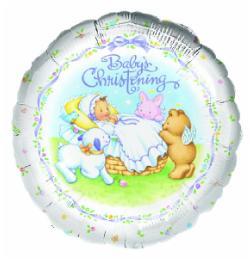 Balloon Christening Baby