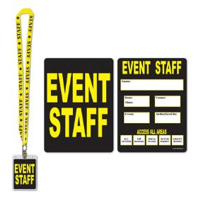 Event Staff Pass