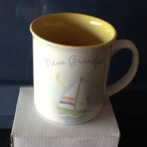Gift New Grandpa Mug