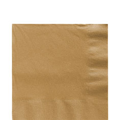 Tableware Gold  Lunch Napkins 50ct