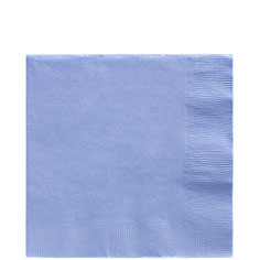 Blue Lunch Napkins 50ct