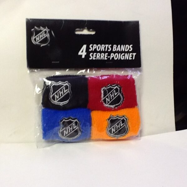 HockeyNHL Wrist Band 4ct