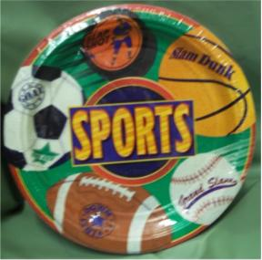 All Sports Extra Dinner Plates