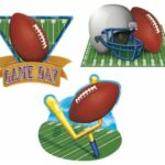 Football Cutouts 3ct