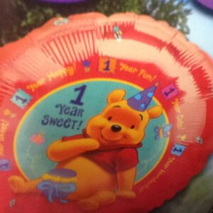 Birthday 1st Sweet Winnie