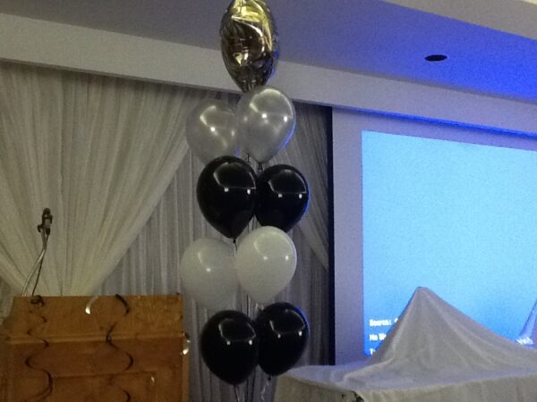 Balloon Bouquet Mylar and latex balloons