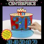 A Year To Celebrate-Centerpiece-Personalizable
