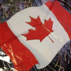Canada Flag Balloon  18in