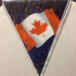Canada Banner 12 feet Pennant Banner