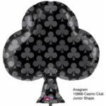 Balloon Casino Black Club 18in