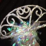 British Queen Tiara sparkle silver