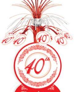 40th Anniversary Centrepiece