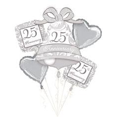Balloon Bouquet 25 Anniversary