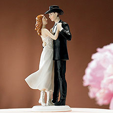 Cake Topper Western Sweet Embrace