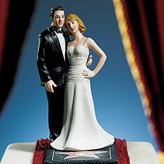 Cake Topper Star For A Day couple