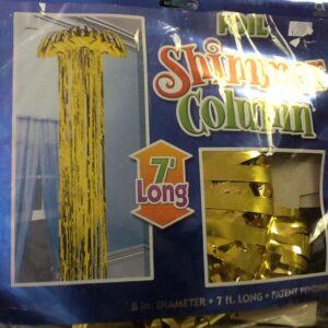 Gold Hanging Coloumns