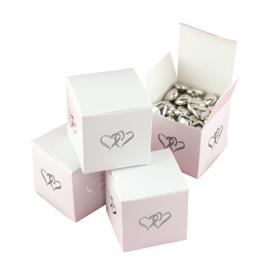 Favor Box Linked At Heart 25ct