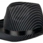 Gangster Hat Pin Stripe