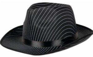 Gangster Hat Pin Stripe