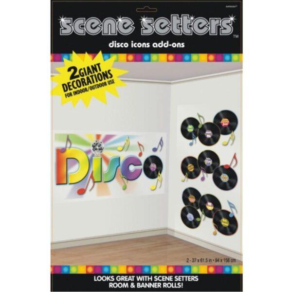70's Records Scene Setter Add Ons