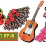 Mexican  Spanish Theme  Cutouts 6ct