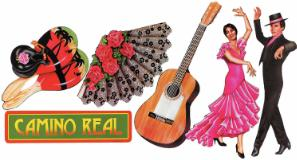 Mexican  Spanish Theme  Cutouts 6ct