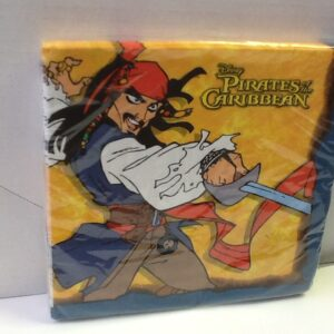 Napkins Carribean Pirate Luncheon