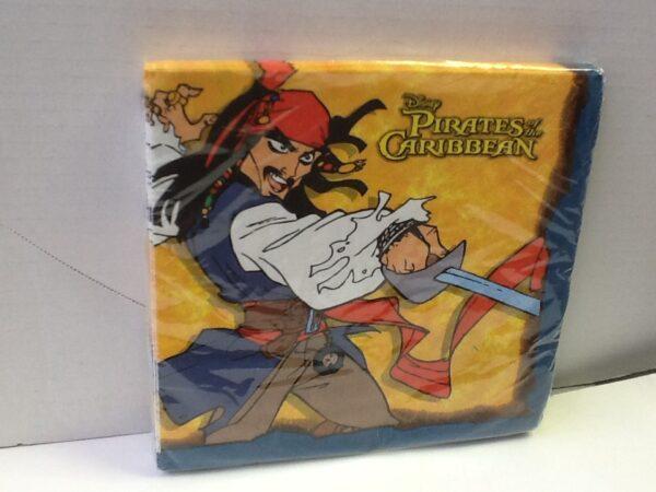 Napkins Carribean Pirate Luncheon
