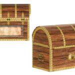 Pirate treasure treat boxes 4ct