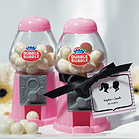 Favor Mini Gumball Machine Pink