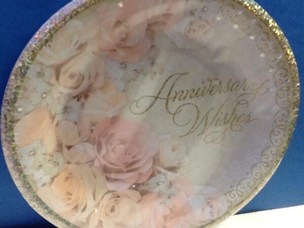Tableware Dazzling Anniversary Dessert Plates