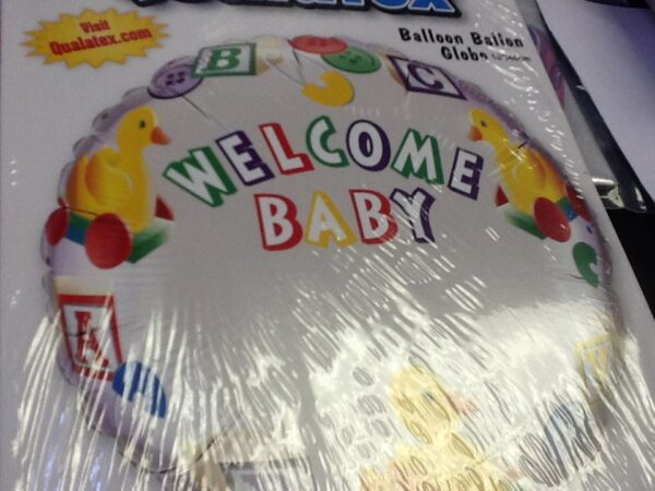 Balloon Welcome Baby 18in
