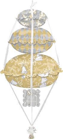 Balloon Stack ups Bridal 56in