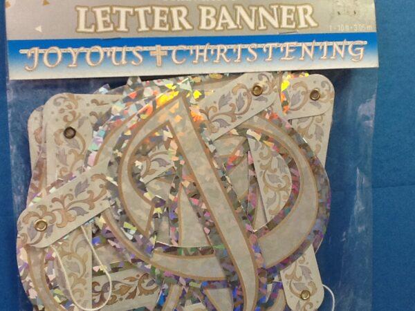Grace Christening Joyous  Banner