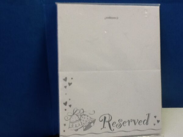 Place Cards Reserved 10ct