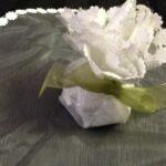 Favor Orgenza Round with flower edge