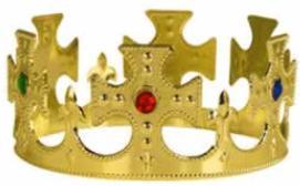 Crown Plastic With Jewel