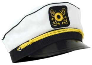 Sailor Captain Yatch Hat