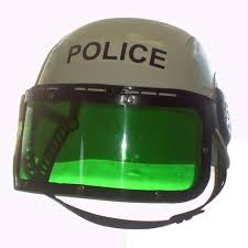 Police Helmet With Visor