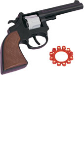 Detective Revolver with caps