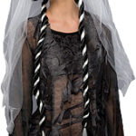 Gothic Bride Wig with veil