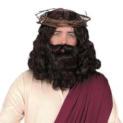 Jesus Wig and Beard
