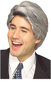 Late Night Show host Wig