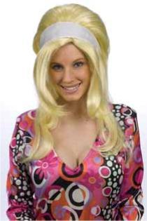 60's Mod Girl Wig
