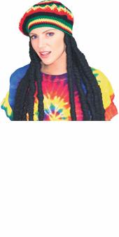 Rasta Wig With Cap